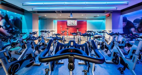 The fitness center and/or fitness facilities at The Landmark Bangkok