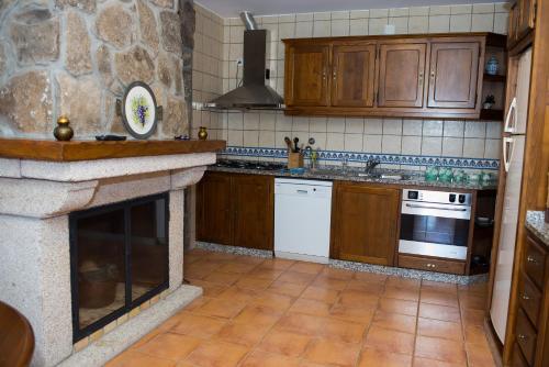 A cozinha ou kitchenette de Casa Da Eira Longa