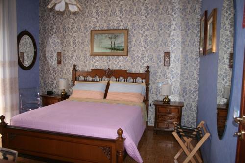 A bed or beds in a room at A casa di Gianna B&B
