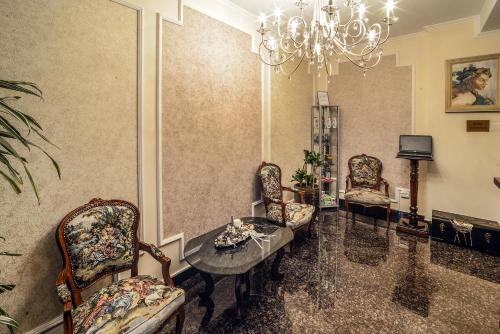 O zonă de relaxare la Hotel Aramia
