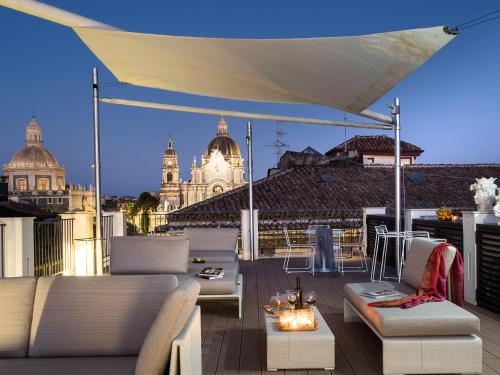 Duomo Suites & Spaにあるレストランまたは飲食店