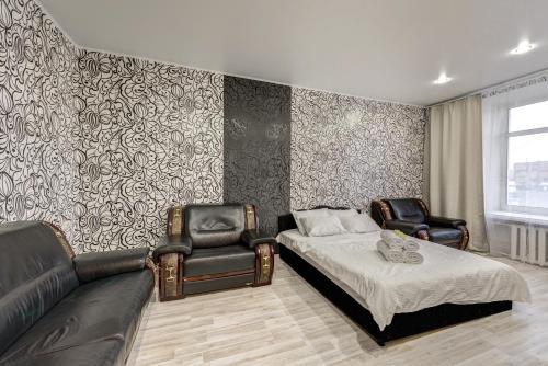 Гостиная зона в Apartment Tverskaya-Yamskaya 26
