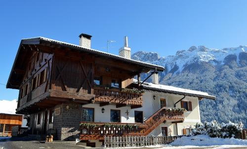 Maso dal Sester during the winter