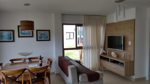 Uma área de estar em Apartamento Residencial Mediterrâneo Iberostate Praia do Forte
