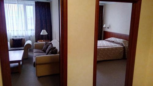 Гостиная зона в Отельный Комплекс Югра