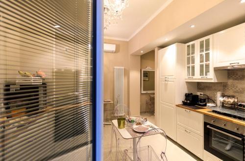 Cuisine ou kitchenette dans l'établissement Maison degli Artisti