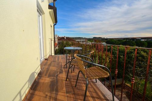A balcony or terrace at Stella Apartments