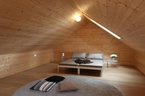 A bed or beds in a room at Haus Design by ISA AGENTUR