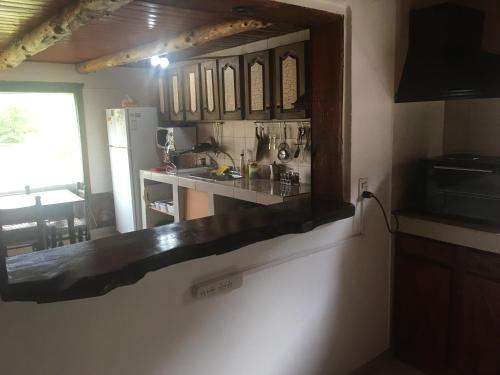 Una cocina o kitchenette en Albergue Aylen-Aike