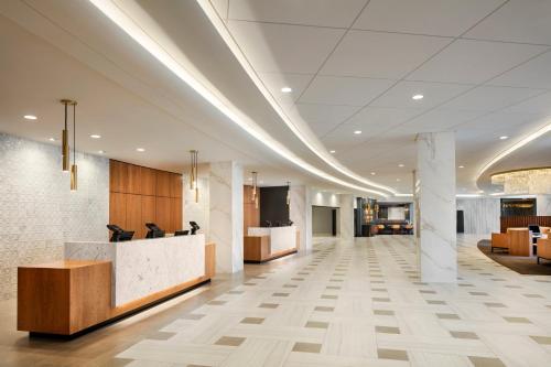 The lobby or reception area at Washington Hilton