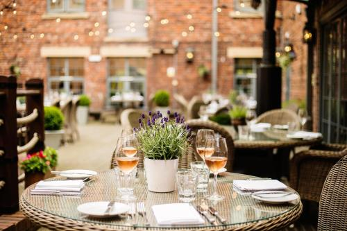 A restaurant or other place to eat at Hotel Du Vin Newcastle