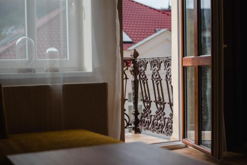 Posteľ alebo postele v izbe v ubytovaní Apartman Heller