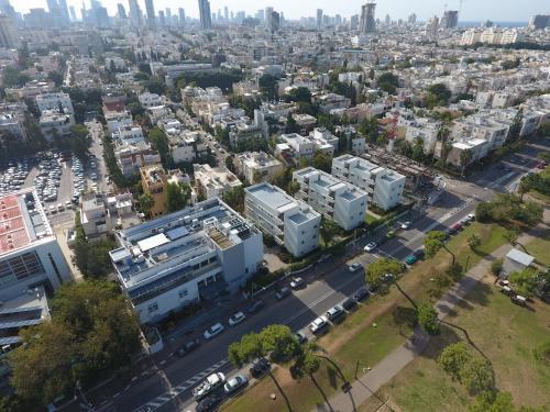 Blick auf HI - Bnei Dan - Tel Aviv Hostel aus der Vogelperspektive