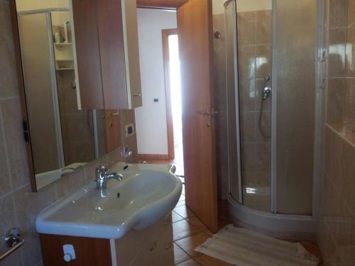 A bathroom at casa al mare