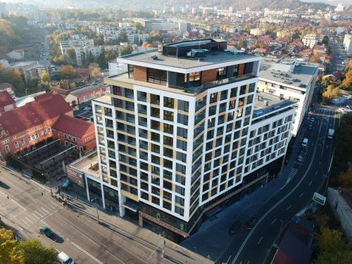 Hotel Platiniaの鳥瞰図