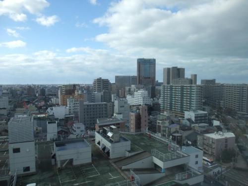 A bird's-eye view of ANA Holiday Inn Kanazawa Sky, an IHG Hotel