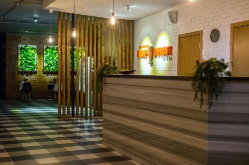 Лобби или стойка регистрации в Отель Станция Народная