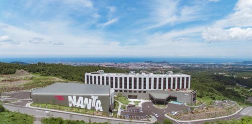 A bird's-eye view of Hotel Nanta Jeju