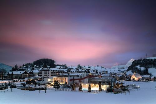 Swiss Holiday Park Resort зимой