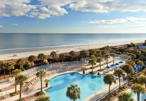 A view of the pool at Marriott Myrtle Beach Resort & Spa at Grande Dunes or nearby