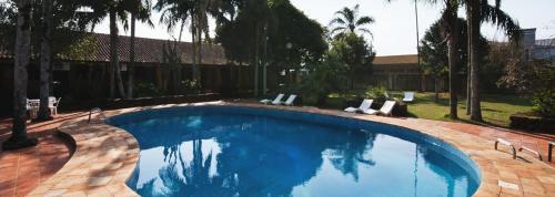 A piscina localizada em San Willa's Hotel ou nos arredores