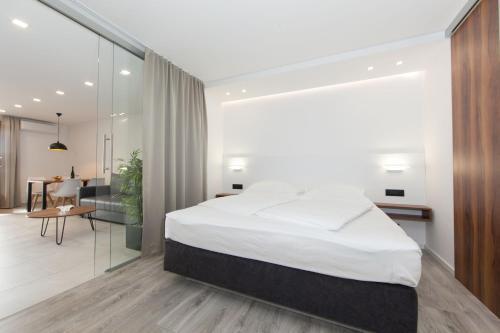 Krevet ili kreveti u jedinici u objektu Apartments Bikin