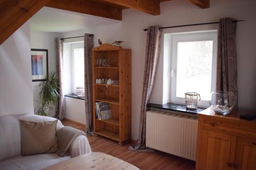 Гостиная зона в Hotel Seeburg