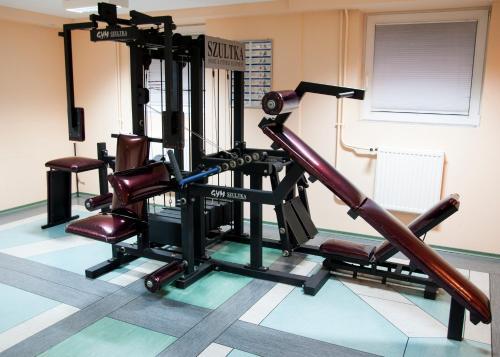 Centrum fitness w obiekcie Relax Inn Health & Spa