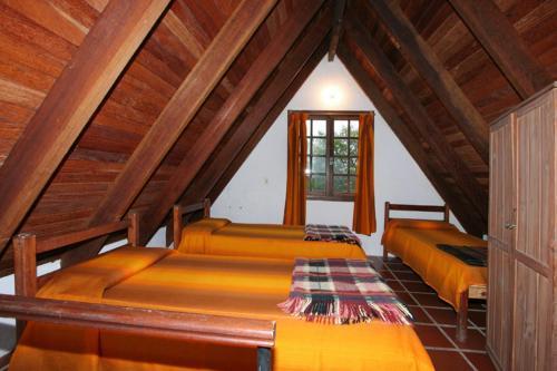 Cama o camas de una habitación en Complejo Turístico Anaconda Cabañas