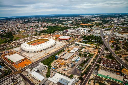 A bird's-eye view of Alter Temporada Manaus - Apto Condomínio