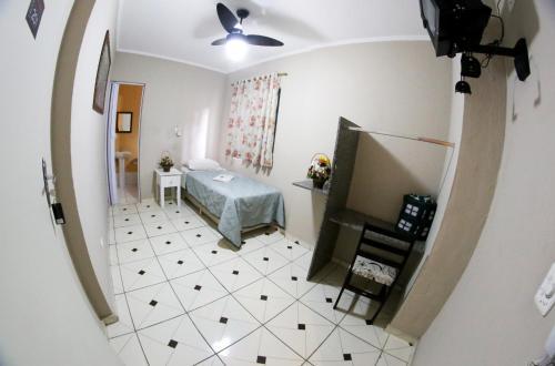 A bathroom at Hotel Bismark