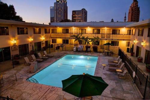 The swimming pool at or near Best Western Plus Sutter House