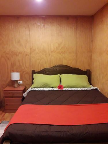 A bed or beds in a room at La casa del Kori