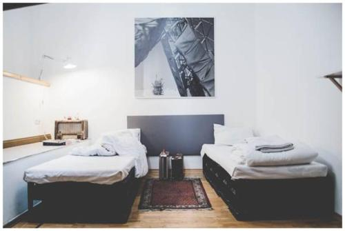 A bed or beds in a room at Hostel Jamaika