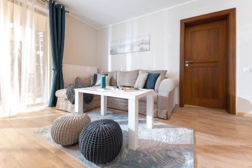 Część wypoczynkowa w obiekcie Mielno-Apartments Rezydencja Park Rodzinna