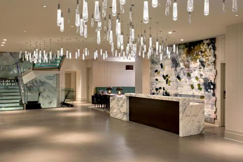 The lobby or reception area at Hotel 1000, LXR Hotels & Resorts