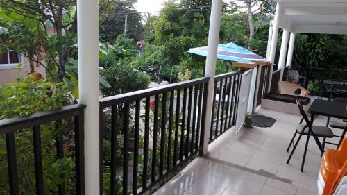 Ein Balkon oder eine Terrasse in der Unterkunft Posada Miss Portia