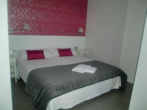 Cama o camas de una habitación en Agroturismo Montefrío