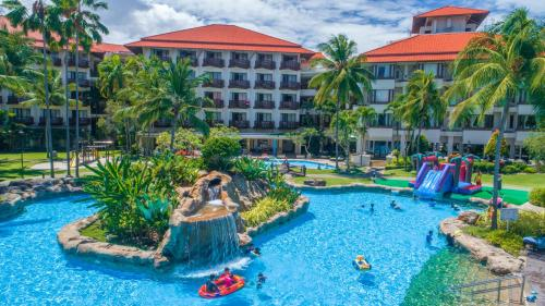 A view of the pool at The Magellan Sutera Resort or nearby