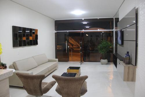 The lobby or reception area at Hotel Executive