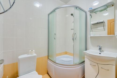 Ванная комната в Lefort Мини-отель