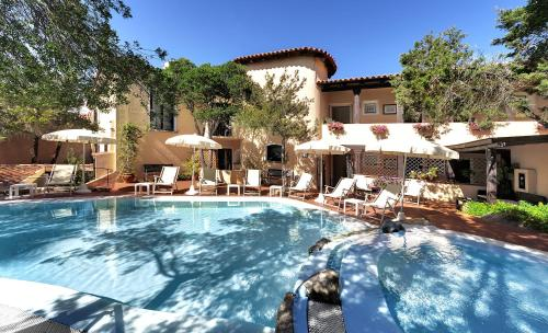 The swimming pool at or near Hotel Colonna San Marco