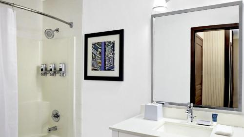 A bathroom at Four Points by Sheraton Surrey