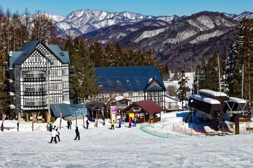 Hakuba Sun Valley Hotel during the winter
