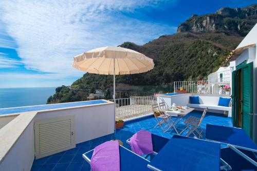 A view of the pool at Casa Di Lucia or nearby