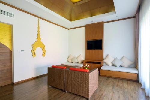 Istumisnurk majutusasutuses Beyond Resort Khaolak - SHA Plus