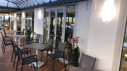 Restaurace v ubytování Hotel Venezia