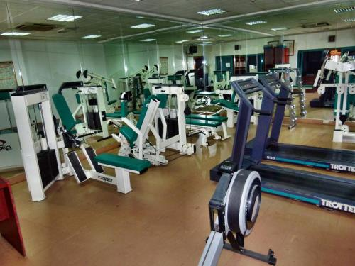 The fitness center and/or fitness facilities at Grand Mayfair Hotel