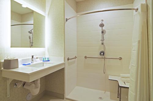A bathroom at Holiday Inn Express & Suites - Phoenix North - Scottsdale, an IHG Hotel