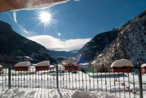 Hostal Parque Natural en invierno